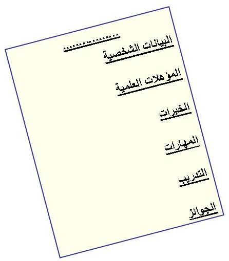Resumes And How To Write Them Hr Arabia